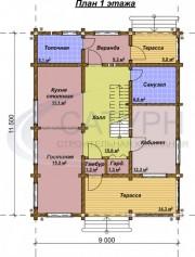 Проект Степ - План 1 этажа